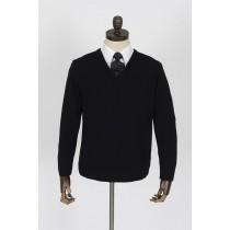 Merino Blend V Neck Pullover