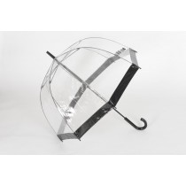 Ladies Clear Birdcage Umbrella