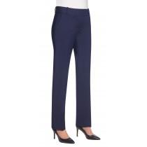 Ladies Slim Leg Weft Trousers