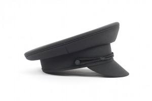 Black Chauffeurs Cap