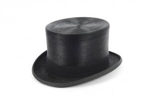 Melusine Shiny Top Hat