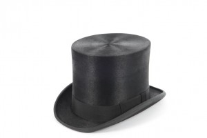 Extra Tall Melusine Shiny Top Hat