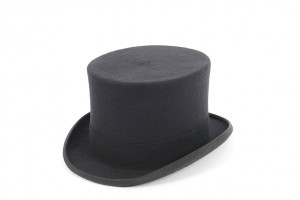 Budget Matt Wool Felt Top Hat