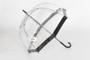 Ladies Clear Birdcage Umbrella