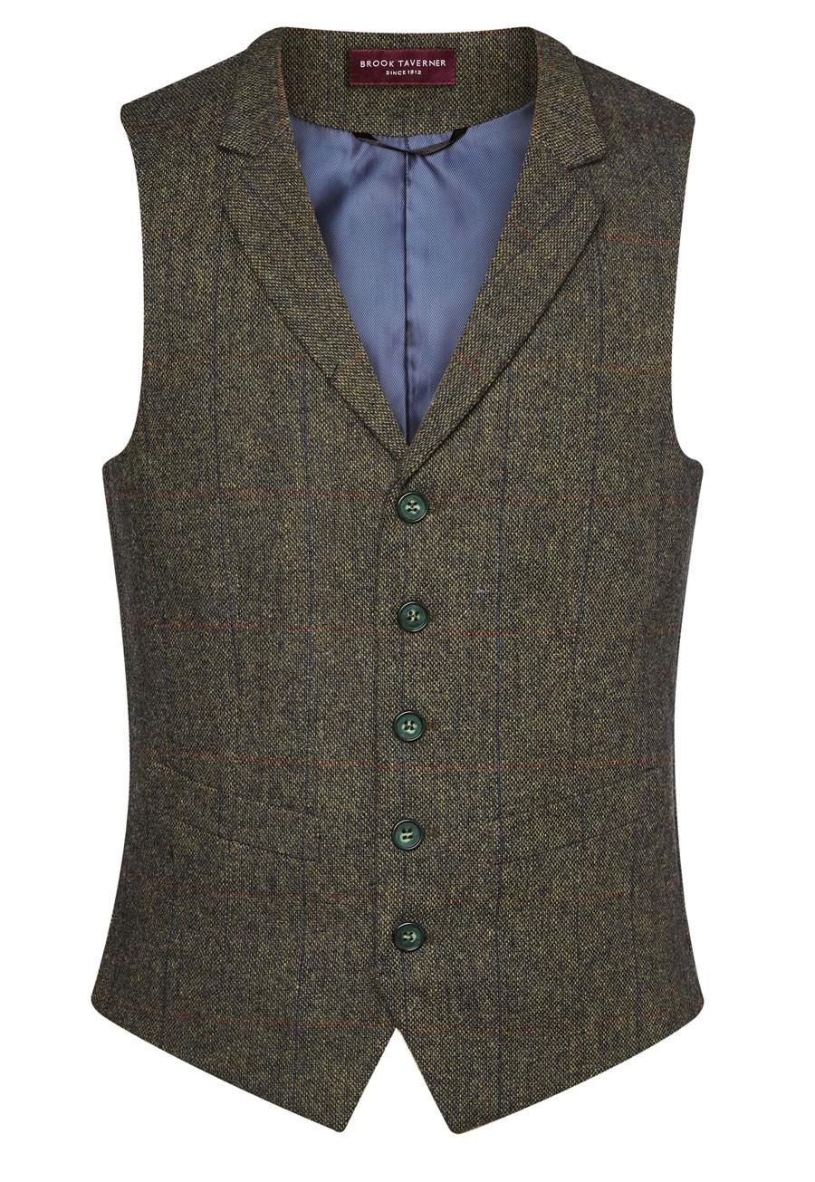 Gent's Tweed Waistcoat