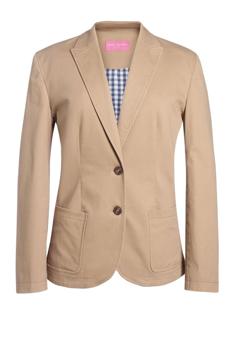 Ladies Chino Jacket