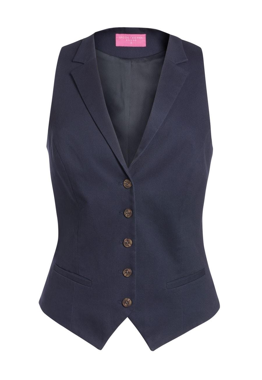 Ladies Chino Waistcoat