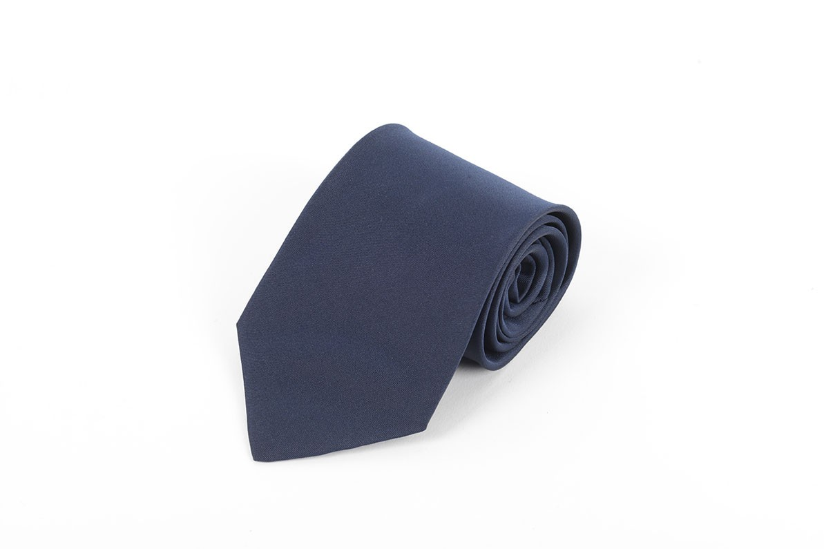 Navy Tie, Clip On