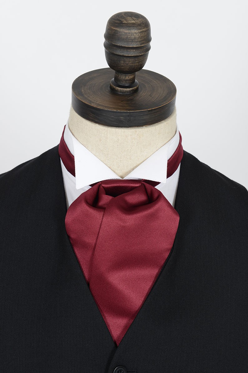 Burgundy Cravat