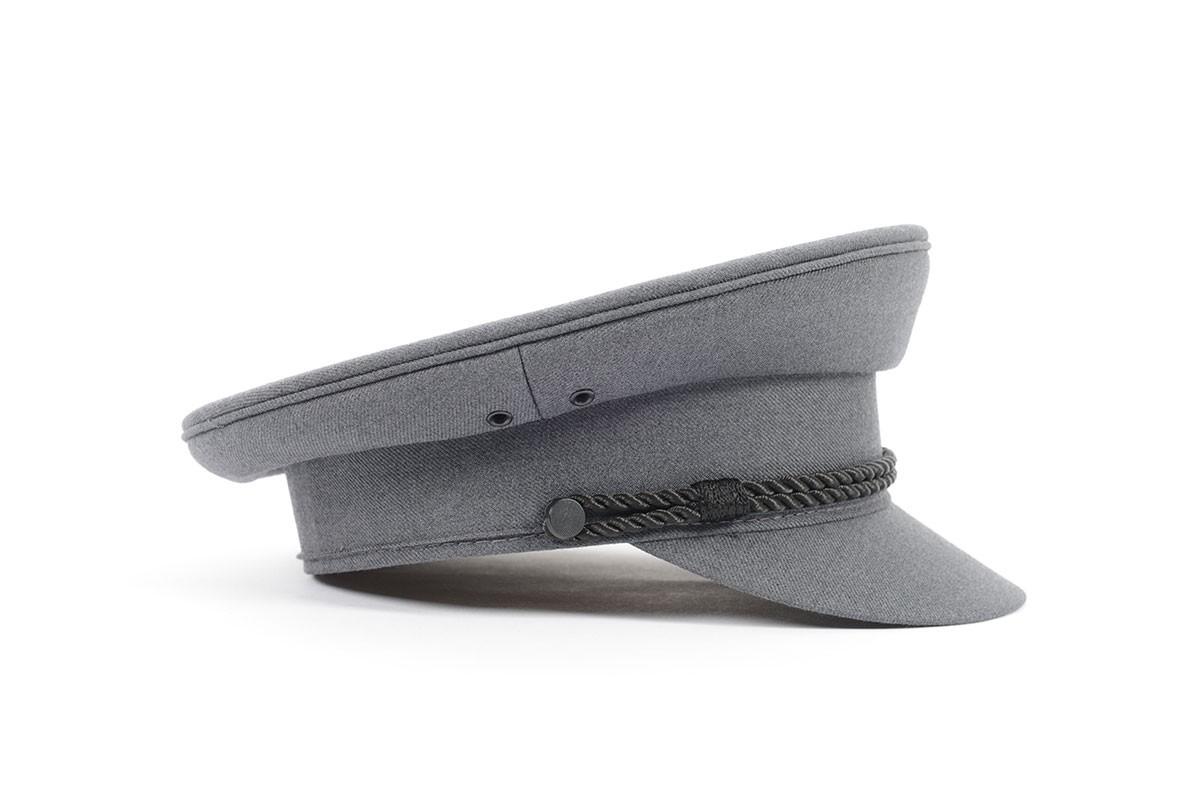 Mid Grey Chauffeurs Cap