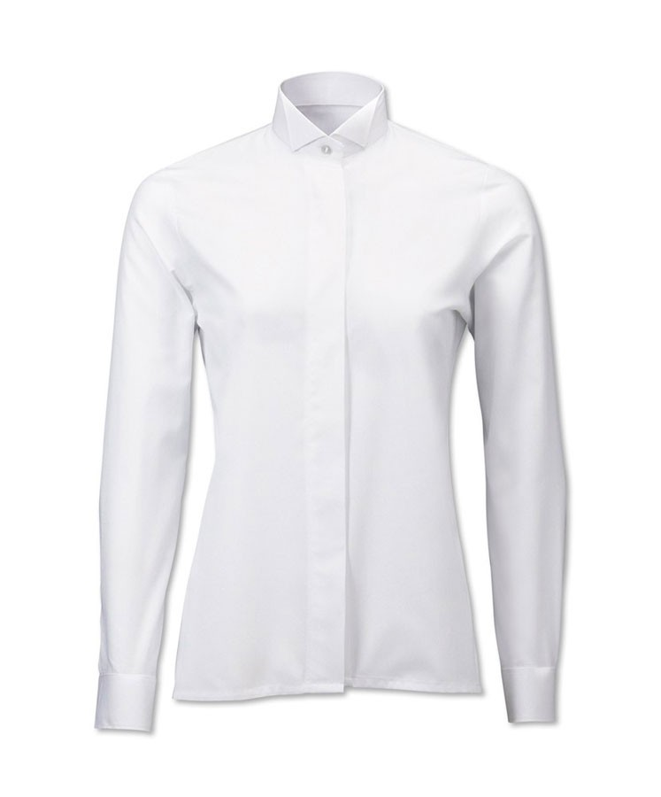 Ladies Wing Collar Blouse
