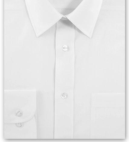 White Long Sleeve White Shirt