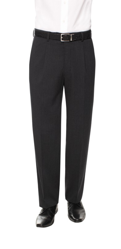 Gents Fully Washable Pleated Trousers