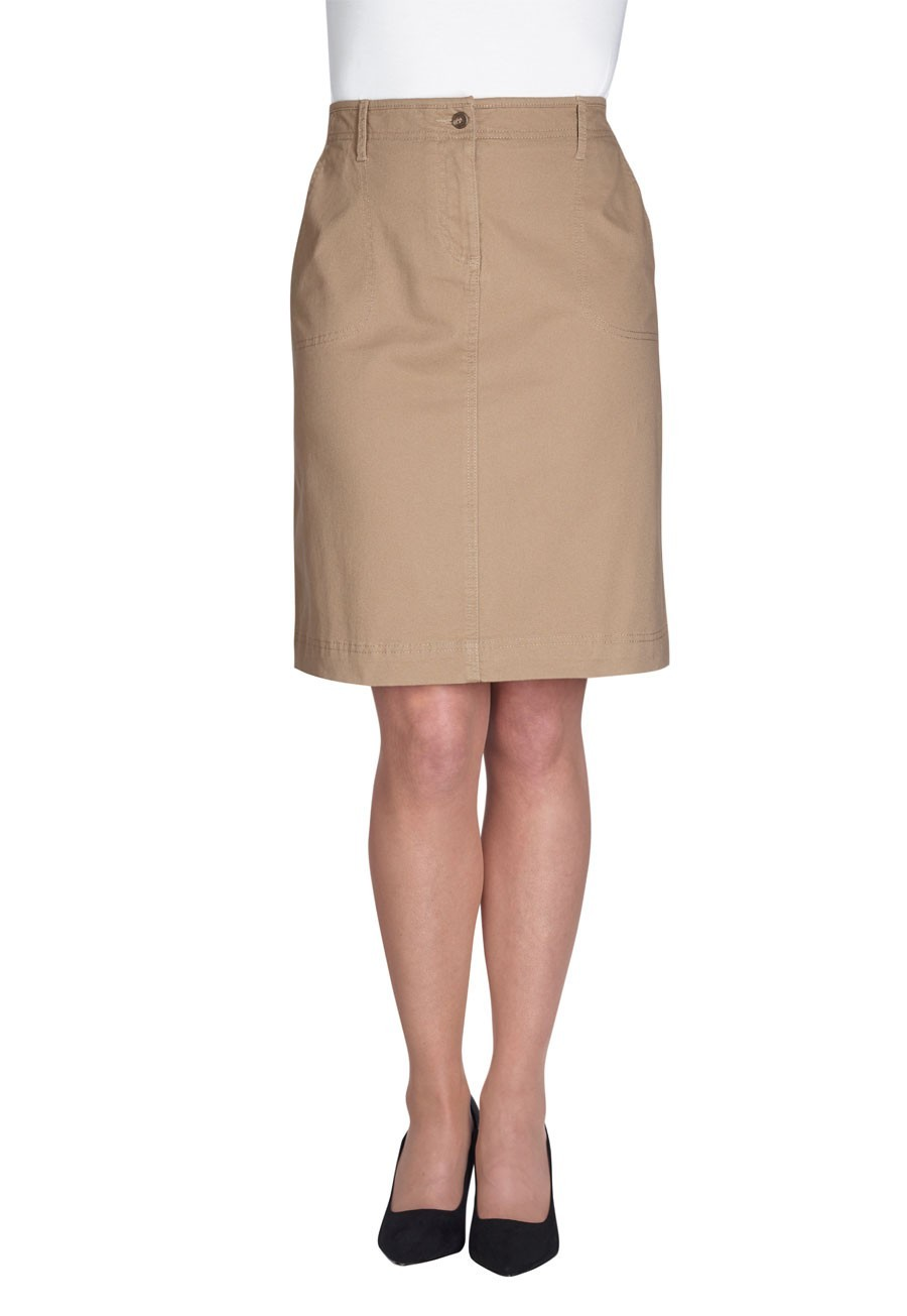 Ladies Chino Skirt