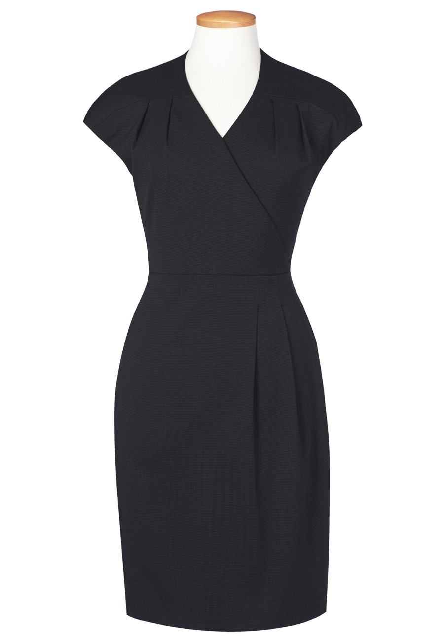 Dress, Front Crossover