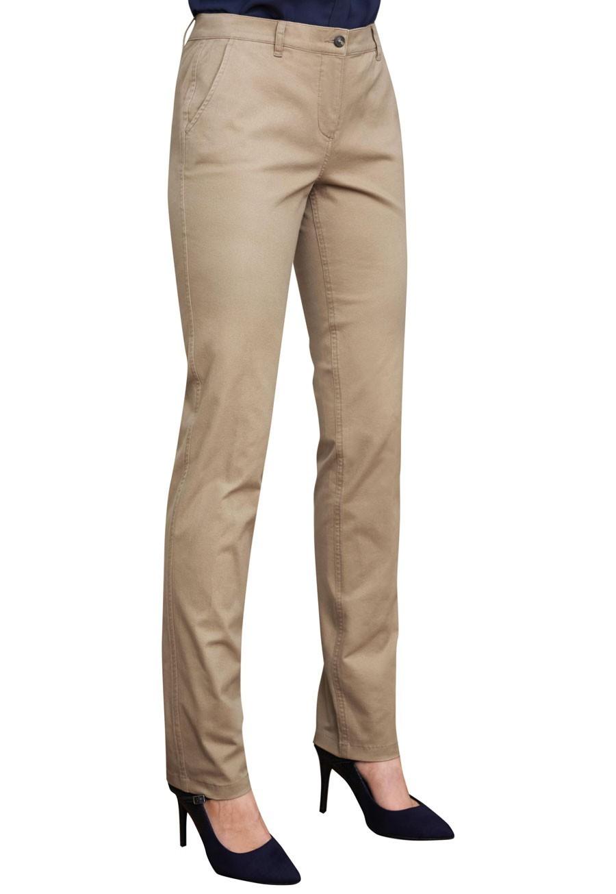Ladies Chino Trousers, Slim Leg