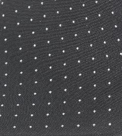 Black & White Spot Handkerchief