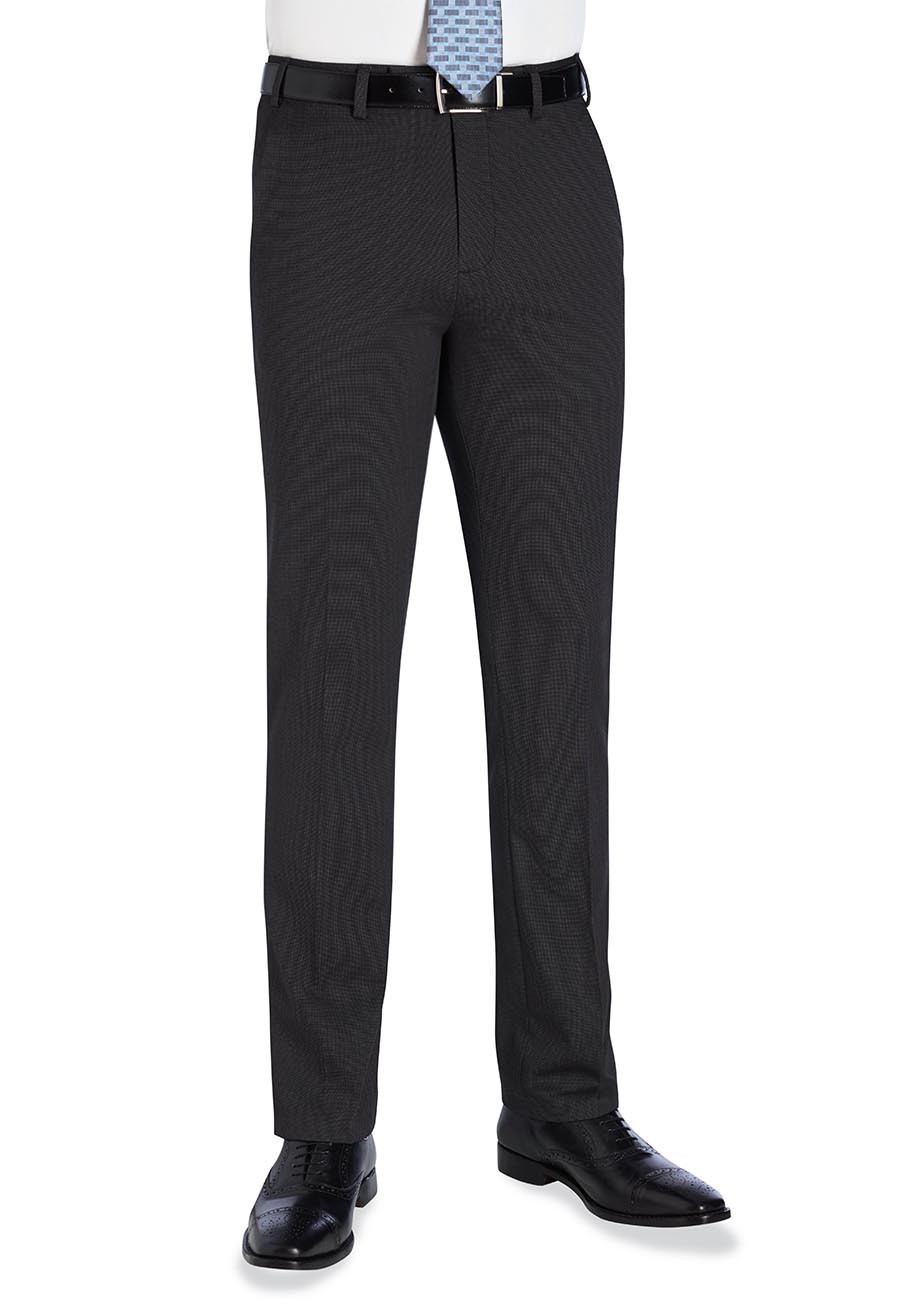 Slim Fit Flat Front PVE Trouser