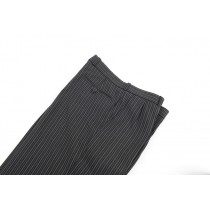 C Stripe Trousers, Pleated