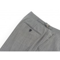 Lightweight Mohair Trousers, Flat Front