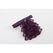 Ladies Damson Jabot