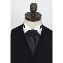Black & White Spot Cravat