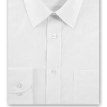 White Extra Long Sleeve White Shirt