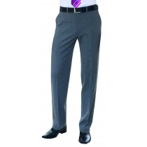 Gents Tailored Fit Weft Flat Front Trousers