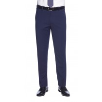 Gents Slim Fit Weft Flat Front Trousers