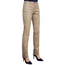 Ladies Chino Trousers, Slim Leg