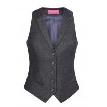 Ladies Tweed Waistcoat